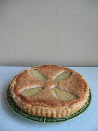 SHF #9: Pear and Almond Frangipane Tart » Pro Bono Baker